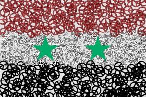 Syrische Friedenflagge