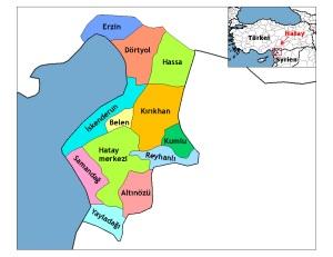 türkische Provinz Hatay - Bild: Wikipedia