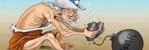 Uncle Sam at work