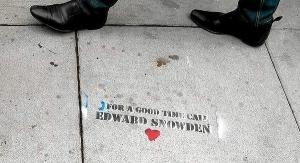 Soligraffito f. Snowden