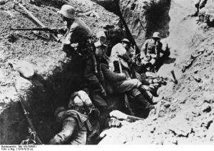 Im Schützengraben - Bild: Wikipedia