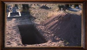 muslimisches Grab