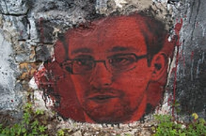 Snowden Graffito