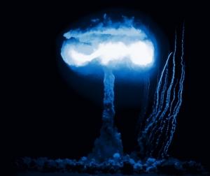 Atomexplosion