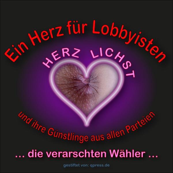 Arschloch_verarschte_Waehler_Lobbyisten_Lobbyismus_Parteienoligarchie_Basisdemokratie_Schubladendenken_Secheuklappendenken