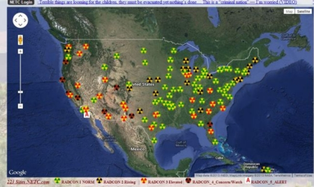 Radiation West Coast
