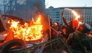 Faschos auf dem Maidan