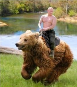 Putins Bärenritt