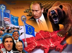Ukraine angerichtet