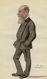 Bild: Wikipedia / Charles Boycott als Karrikatur