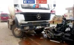 Das angebliche Unfallfahrzeug, dabei starb Shim in Istambul