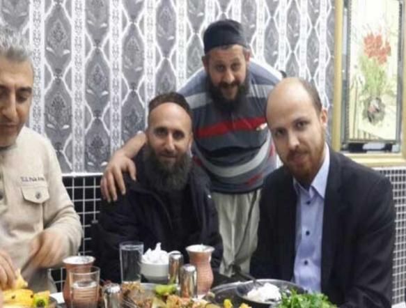 Bilal Erdogan und seine IS- Terrorkumpels