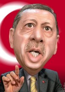 Recep Tayyip Erdogan -Caricature - DonkeyHotey - flickr - CC BY-SA 2_0