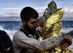 Bild: Una parella de refugiats sirians / Jordi Bernabeu Farrus / flickr / CC BY 2.0