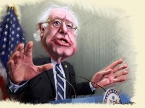 Bild: Bernie Sanders - Caricature / DonkeyHotey / flickr / CC BY 2.0