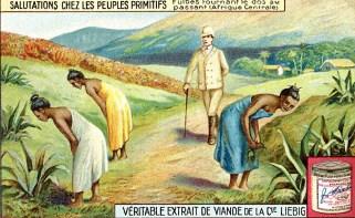 Bildtitel: Der Gruß der primitiven Völker - Wikimedia Commons